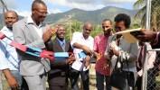 Le Chef de l'Etat Jovenel Moïse inaugure une centrale électrique à Tiburon