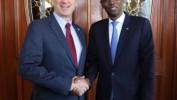 Mark Green, administrateur de l'USAID reçu par le Président Jovenel Moïse