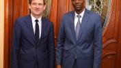 Haïti/Politique: David Hale reçu par le Président Jovenel Moïse pour sa deuxième visite à Port-au-Prince