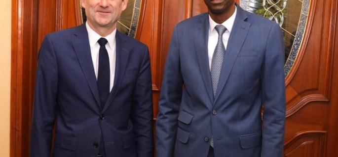 Photo 2 Jovenel Moise et david Hale