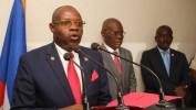 Installation du nouveau ministre de la justice et de la sécurité publique Lucmanne Delille